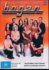 Upper Middle Bogan Complete Series One to Three 1 - 3 DVD NEW Region 4