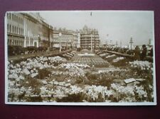 POSTCARD RP SUSSEX EASTBOURNE - THE CARPET GARDEN