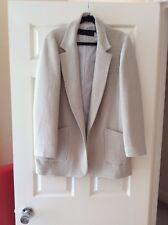 Zara Women Structure Jacket, Size L, Bnwot