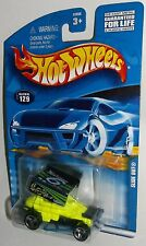 Hot Wheels 2001 Collector #129 Slide Out Yellow #6 Austin Curtis Racing 3SPs
