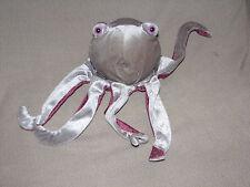 OCTOPUS Glove Hand Puppet Plush Caltoy Teachers/Preschool Stuffed Toy Gray