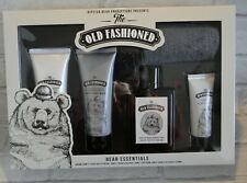 OLD FASHIONED MENS HIPSTER BEAR BEARD GROOMING GIFT SET  / CHRISTMAS GIFT