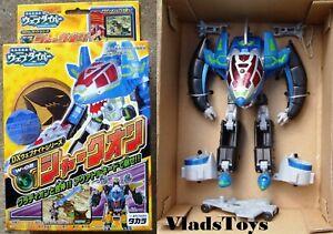 Takara Dennou Boukenki Webdiver W-02 Transformer Robot Sharkon Japanese Anime