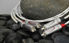 Nerve Audio Axon 22 RCA Audio Interconnect Cables Silver Plated OFC 1 meter