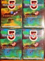 Babylon 5 Supplement Decks Opposition & Non-Aligned Worlds - Parts of 4 sets