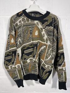 Vintage Alan Stuart Sweater Jumper XL 100% Acrylic