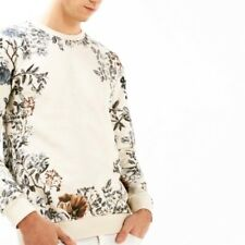 Zara Man Men's Cream Sweatshirt Size XL