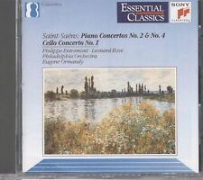 Concertos pour piano Nos.2 & 4 / Concerto pour violoncelle CD