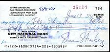 Susan Strasberg Jsa Authenticated Signed Check Autograph