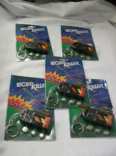 ECHO KILLER VINTAGE ELECTRONIC WEAPON SOUND EFECTS KEYCHAIN NEW OLD STOCK