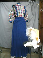 Victorian Dress Women's Edwardian Costume Civil War Western Prairie