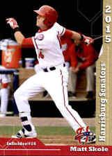 2015 Harrisburg Senators Grandstand #32 Matt Skole Woodstock Georgia GA Card