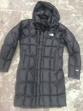 NORTH FACE BLACK LONG PUFFA COAT SIZE  S VERY GOOD CONDITION!!!!!!