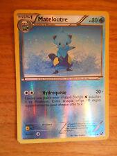 Carte Pokémon Holo Reverse Mateloutre 80 PV 30/114 (Noir et Blanc)