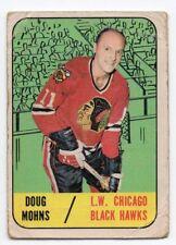 1X DOUG MOHNS 1967 68 Topps #63 Good CHICAGO BLACK HAWKS