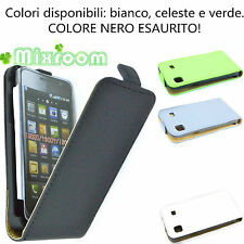 CUSTODIA COVER FLIP CASE PER SAMSUNG i9000 G959 Galaxy S i9001 PLUS