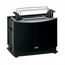 Braun HT450 Black 220 Volt 2-Slice Toaster For Overseas Use Export Only