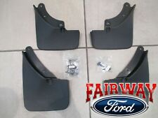 2020 Escape OEM Genuine Ford Molded Splash Guards Mud Flaps - Set of 4