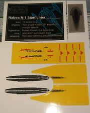 Star Wars Sticker for Lego® 10026 Naboo Starfighter UCS precut Replacement