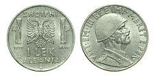 pcc1561_2)  Albania Vittorio Emanuele III - 1 Lek 1939 XVIII