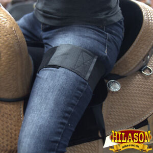 Hilason Anti Slip Grip Horse Saddle Seat Cover Barrel Trail Riding Black U-L210