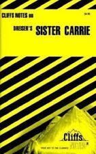 """Cliffs Notes for Dreiser's Novel """"Sister Carrie"""""""