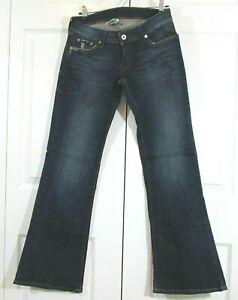 """Lucky Brand Jeans Flirty Lil Maggie Women's Size 6 Waist 27"""" Bootcut 32"""" Denim"""