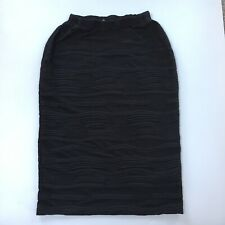 Black Size 12 Crinkle Skirt
