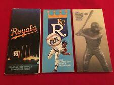 1980-2018 MLB Kansas City Royals media guide / You pick 'em / Brett / Saberhagen