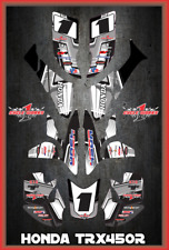 TRX 450R graphics sticker kit for Honda Quad SEMI CUSTOM GRAPHICS  SLASHER2