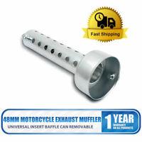 48mm Moto DB Killer Pot d'échappement Silencieux Baffle Noise Suppresseur Bruit