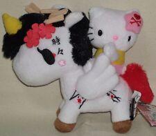 """TOKIDOKI x Hello Kitty Unicorno Pegasus Plush Doll 5.9"""" 15cm Sanrio 2015 NWT"""