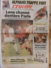 L'Equipe du 2-3/12/1995 - Alphand - Lens - Griffith-Joyner- Coupe Davis : Russie