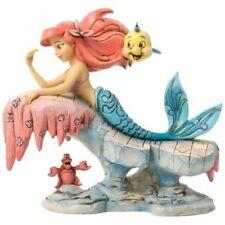 New Enesco Disney Traditions Little Mermaid On Rock Figurine
