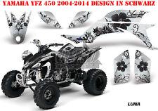 AMR Racing DECORO GRAPHIC KIT ATV Yamaha YFZ 450 04-14,yfz 450r 09-16 Luna B