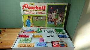 Vintage Soccerboss Football Board Game 1969 Spare Replacement Choose Your Part