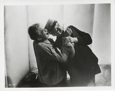 """THE HAUNTED STRANGLER""-ORIGINAL PHOTO-HORROR-BORIS KARLOFF-FIGHT SCENE"