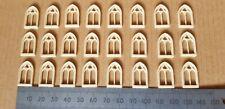 OO Gauge 1:76 Scale railway building church arch windows