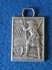 Vintage Swiss Military Shooting Medal - Mousquetaire 1667 - P.Kramer Neuchatel