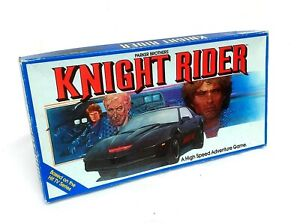 Knight Rider Board Game (1982) Parker Brothers - Based on the Hit TV Series
