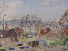 Pollos en la granja artista R G Howard 1950 Envío Gratis A Inglaterra
