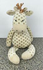 "Jellycat Giraffe Georgie 16"" Polka Dots Plush Stuffed Animal Little Jellycat"