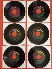 "TINA TURNER Lot of 6 7"" 45rpm Vinyl VG+/++ Jukebox Best Hero What's Love Married"