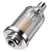 1/4 Inch Air Compressor Pneumatic Dust Filter Oil Water Separator 90Psi H4W4