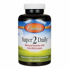 Carlson Super-2-daily, Vitamins & Minerals, 120-Softgels
