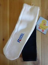 Russell Athletic ALL SPORT SOCK Size XL White Blue Over the Calf RTSDGS1 New