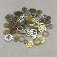 Mixed Vintage DIY Steampunk Jewellery Cogs & Gears Watch Parts Making Craft