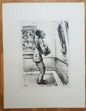 Könige A Nachlass Original Lithographie PAUL WEBER
