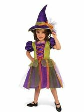 Pumpkin Witch Girl's Costume Kids Child Halloween Fancy Dress Up Outfit