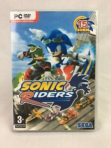 Sonic Riders - With Manual - PC - DVD-Rom